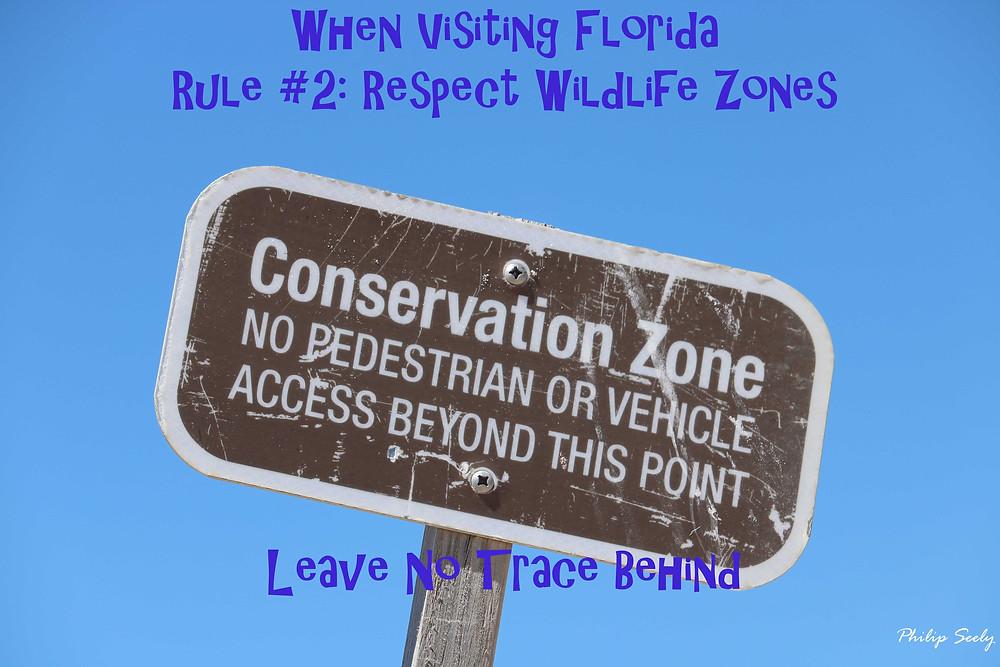 Rule 2 - Respect Wildlife Zones