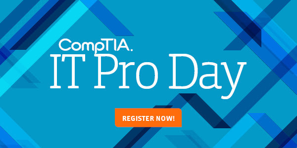 CompTIA IT Pro Day Registration