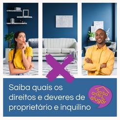 Saiba quais os direitos e deveres de proprietário e inquilino