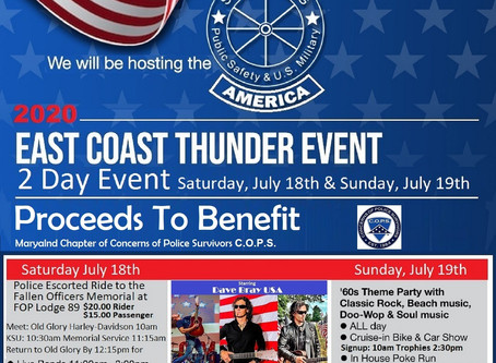 East Coast Thunder is Back !!!!