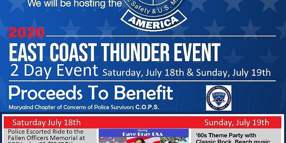2020 East Coast Thunder Event