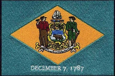 Delaware-Flag-embroidery-patch-3-wide-Ma