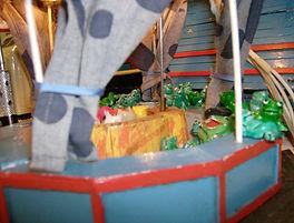 Kikkerspel Miniatuurkermis Dany Van Goethem
