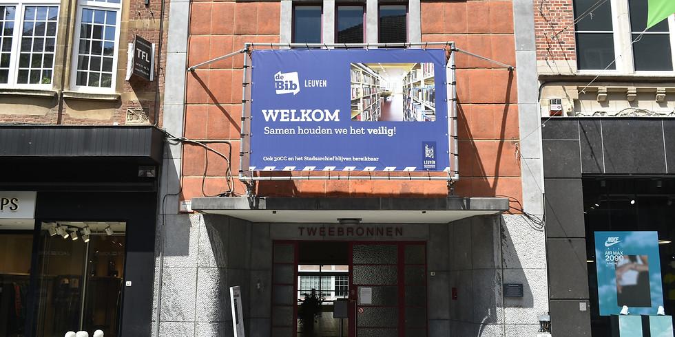 Tentoonstellingen Leuven Bibliotheek