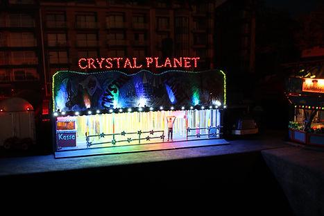 Doolhof Crystal Planet Miniatuurkermis Dany Van Goethem
