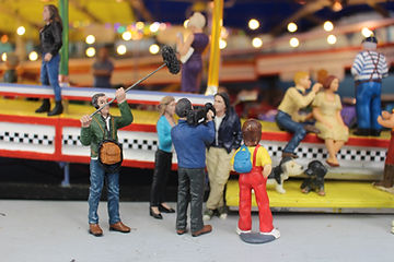 Auto Sprint Kartbaan Miniatuurkermis Dany Van Goethem