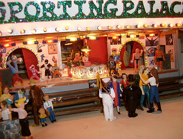 Sporting palace boksbarak Miniatuurkermis Dany Van Goethem