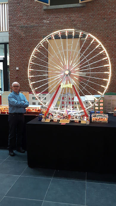 Reuzenrad Miniatuurkermis Dany Van Goethem
