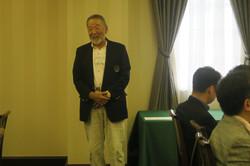 成田さんによる閉会のご挨拶