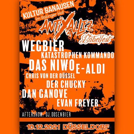 Ratinger Hof / Anti Allez Labelfest