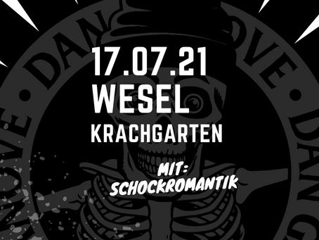 Show in Wesel / Krachgarten