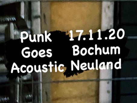 17.11.20 Bochum - Punk Goes Acoustic
