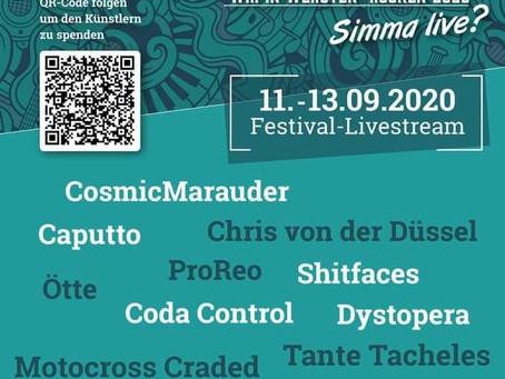 Live in Düsseldorf @Rock am Bach 13.09.20