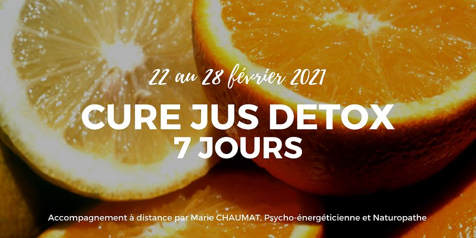 Cure Jus Détox - 7 jours