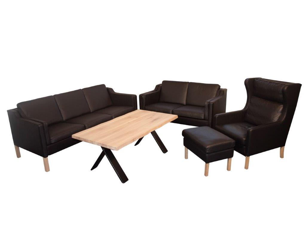 Boston 3+2 Sofa + Oereklap + Skammel