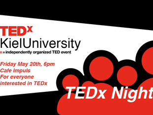 TEDx Night coming Friday @6pm