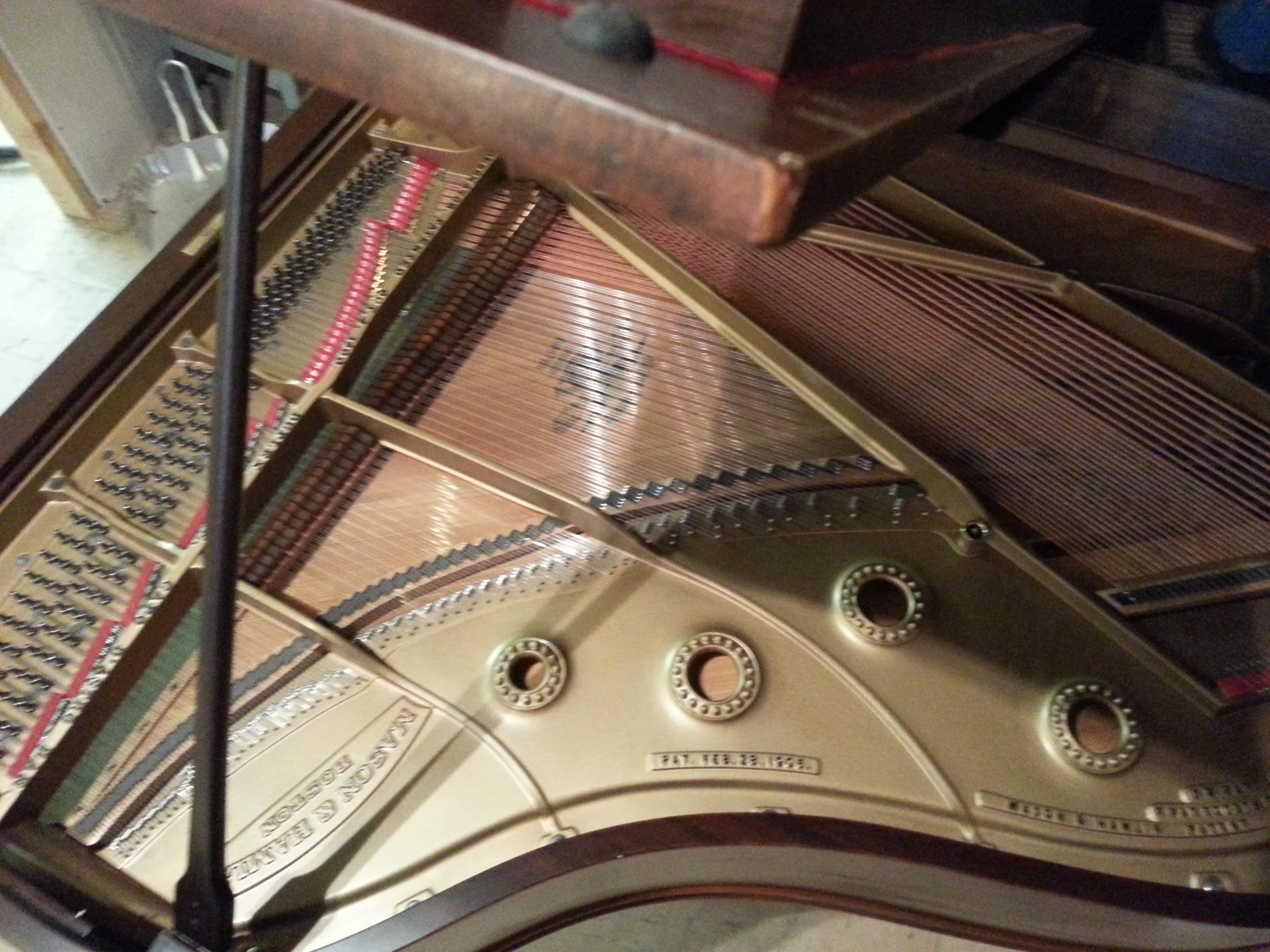 mason and hamlin grand piano