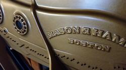 Mason & Hamlin plate finish Molalla