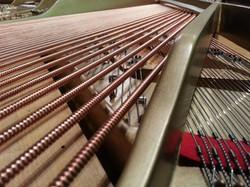 New strings. Steinway Salem