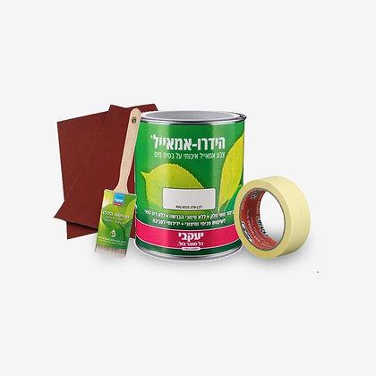 חבילה בּול לצביעה ״בריאה״ של עץ ומתכת