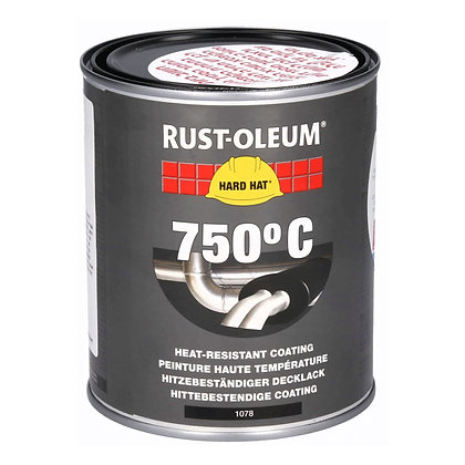 בלקי - צבע עמיד בחום 750 מ״ל
