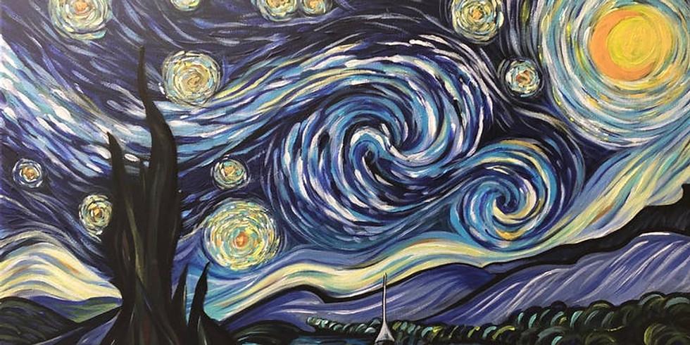 CocktailsnCanvas Revolution......'Starry Night'