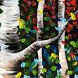 Rainbow Birches