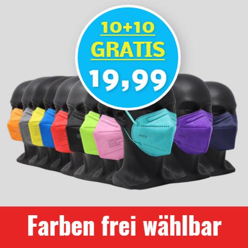 FFP2 10+10 GRATIS