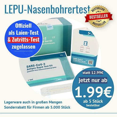 LEPU Antigen-Schnelltest (Schüler-Test)