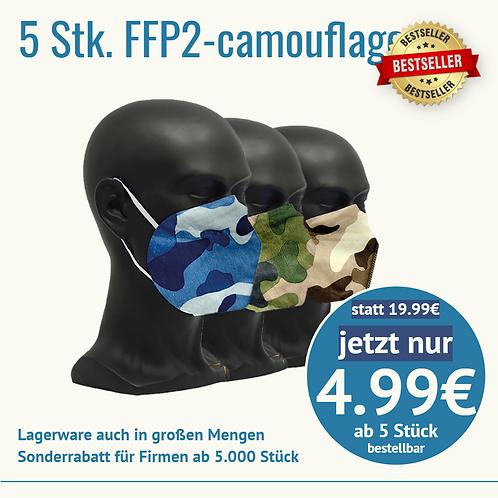 Camouflage 5 Stück