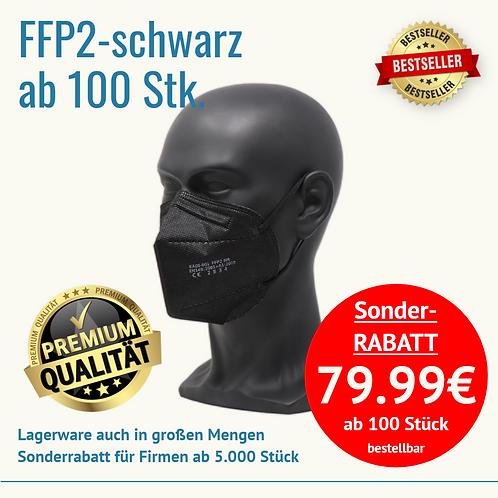 FFP2 schwarz ab 100 Stück