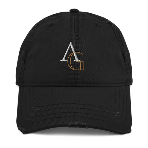 Distressed Hat - AG Logo