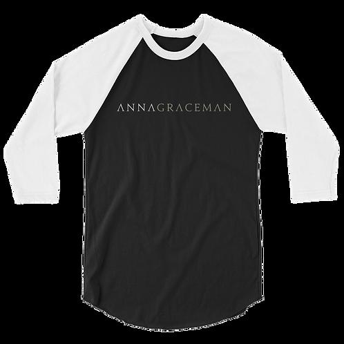 Anna Graceman Unisex Baseball Tee - 3/4 Sleeve