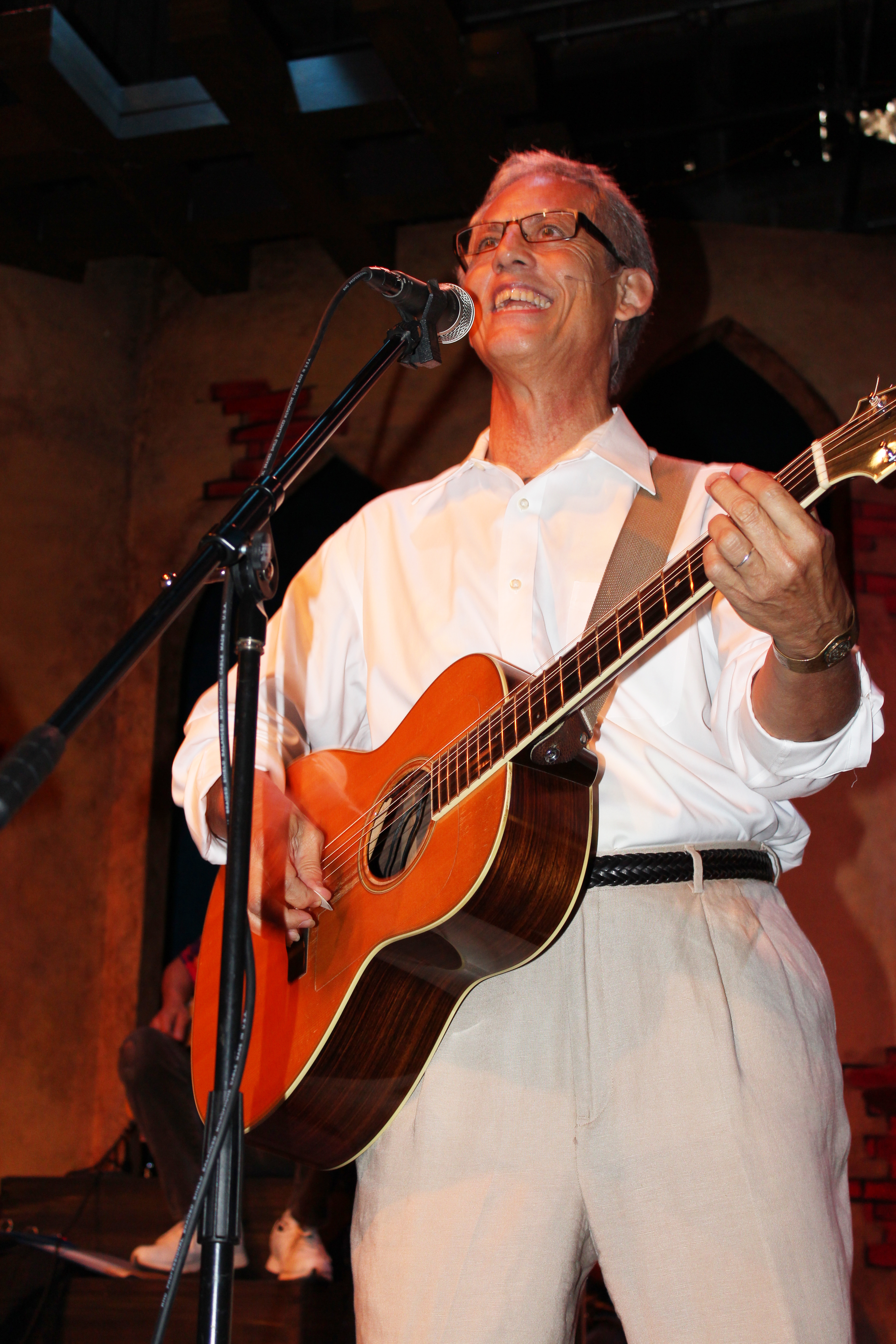 Rudi Harst singing 3-15-2013