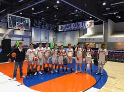 Rebels Club Basketball Team