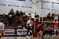 Phoebe Corgiat: PRHS Varsity Volleyb