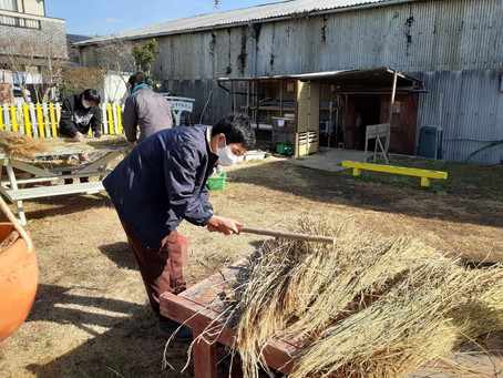 【藁で縄を編むノ巻】
