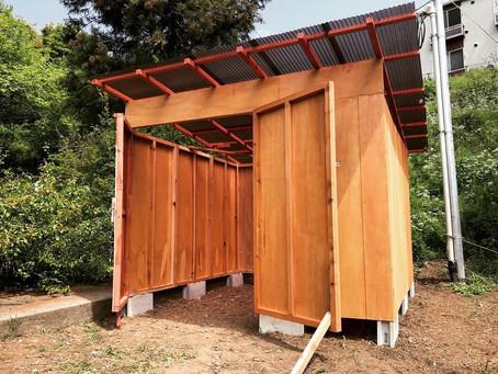 「小屋作り」