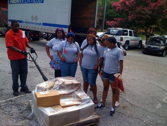 Jackson ms grove park school supplies giveaway