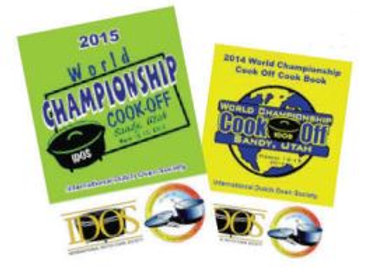 2014 & 2015 World Championship Cookbooks
