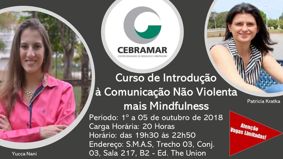 CURSO de Introdução à CNV mais Mindfulness 1º a 05 de outubro de 2018
