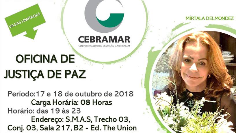 OFICINA DE JUSTIÇA DE PAZ - 17 e 18 de outubro de 2018