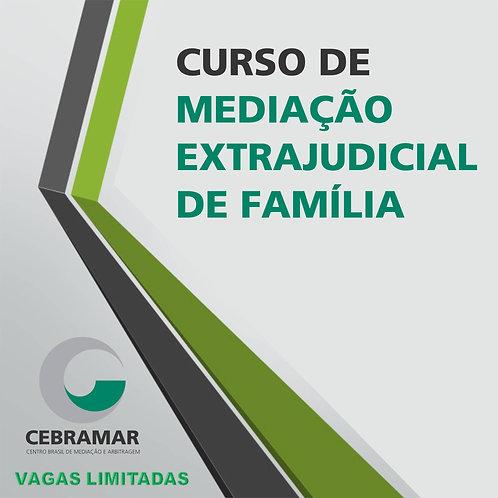 Curso de Mediação Extrajudicial de Família