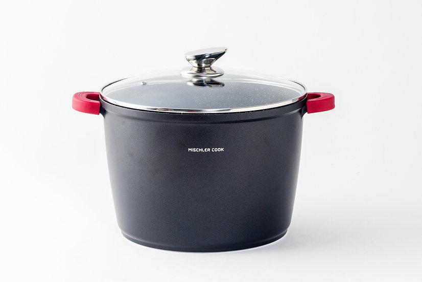 Deep casserole, 28cm, black