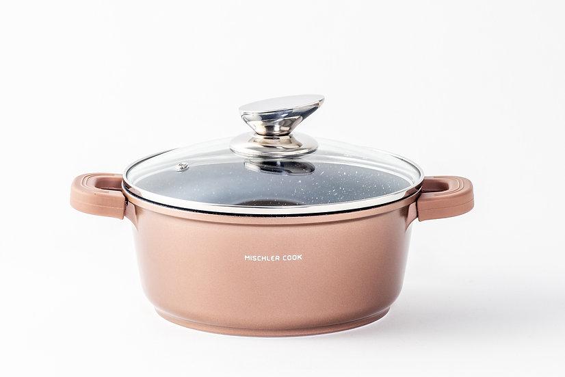 Casserole, 20cm, copper