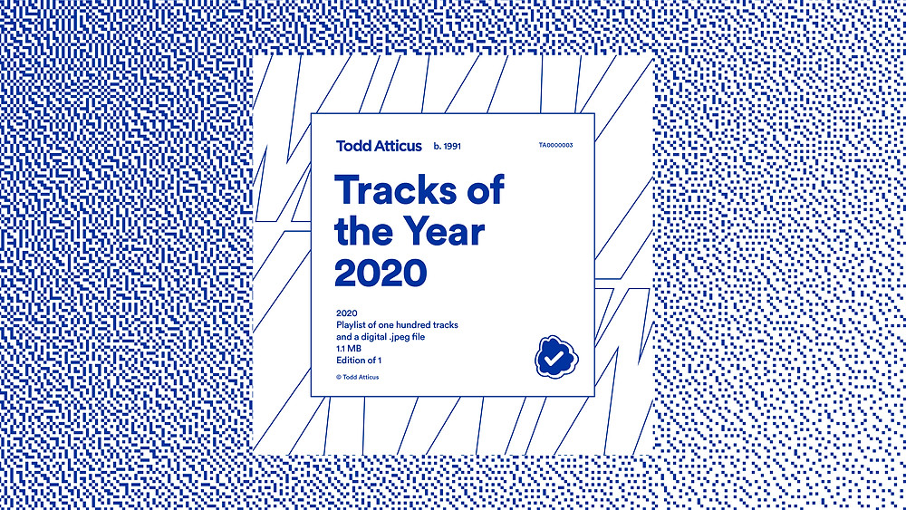 Cover artwork for Todd Atticus' Tracks of the Year 2020