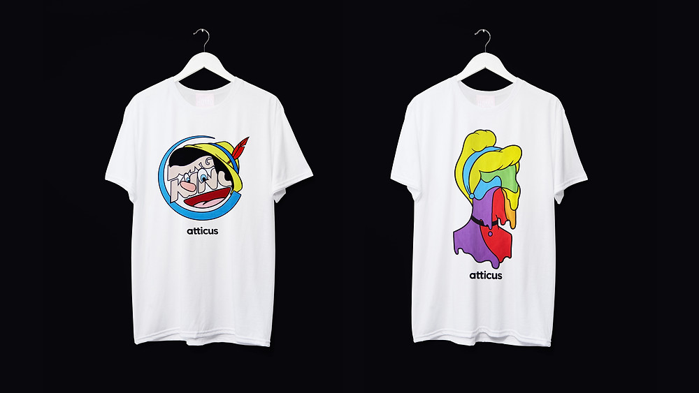 Pride Month tees from Todd Atticus and HOMO London