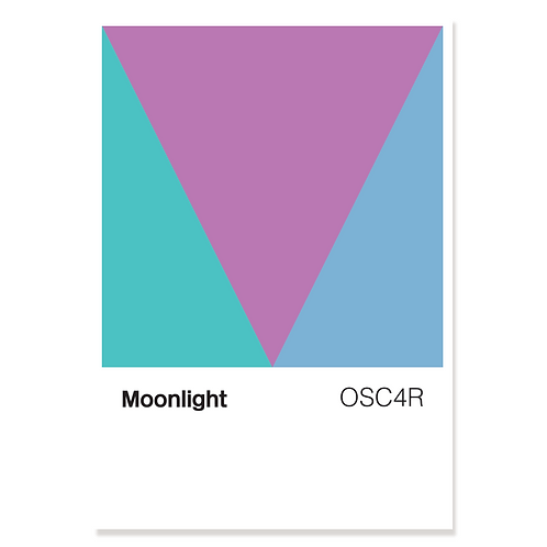 Moonlight (Colour Chart) – Print