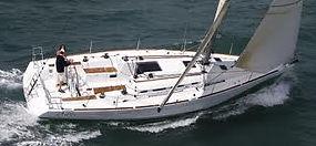 Osprey under sail on Hudson River