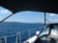 Under sail to Virgin Gorda